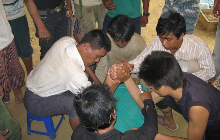 Activity at Seng Taung DIC